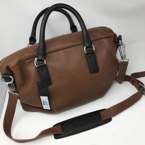 Marc by Marc Jacobs Brown Leather Briefcase Bag